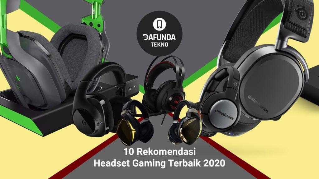 10 Rekomendasi Headset Gaming Terbaik 2020