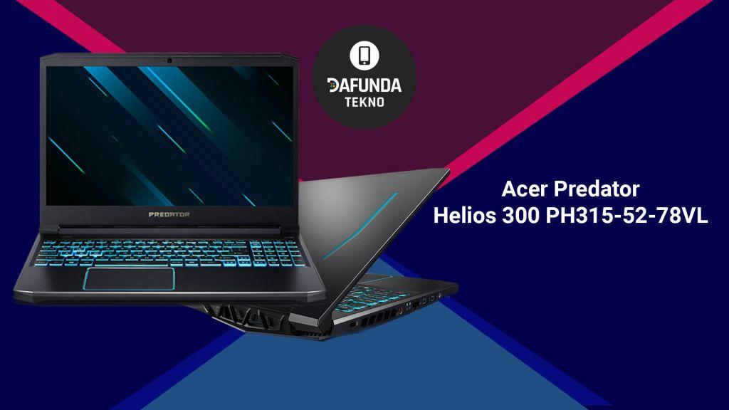 Acer Predator Helios 300 Ph315 52 78vl