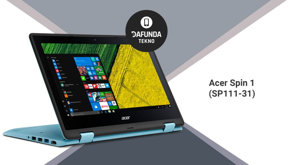 Acer Spin 1 Sp111 31 2