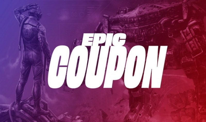 Epic Games Store Sale Coupon