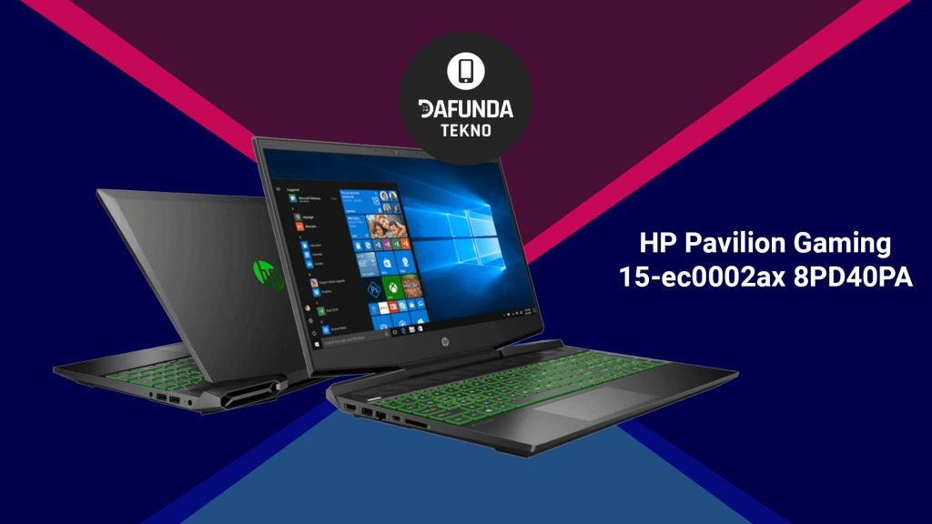 Hp Pavilion Gaming 15 Ec0002ax 8pd40pa