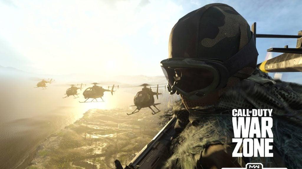Helikopter Warzone