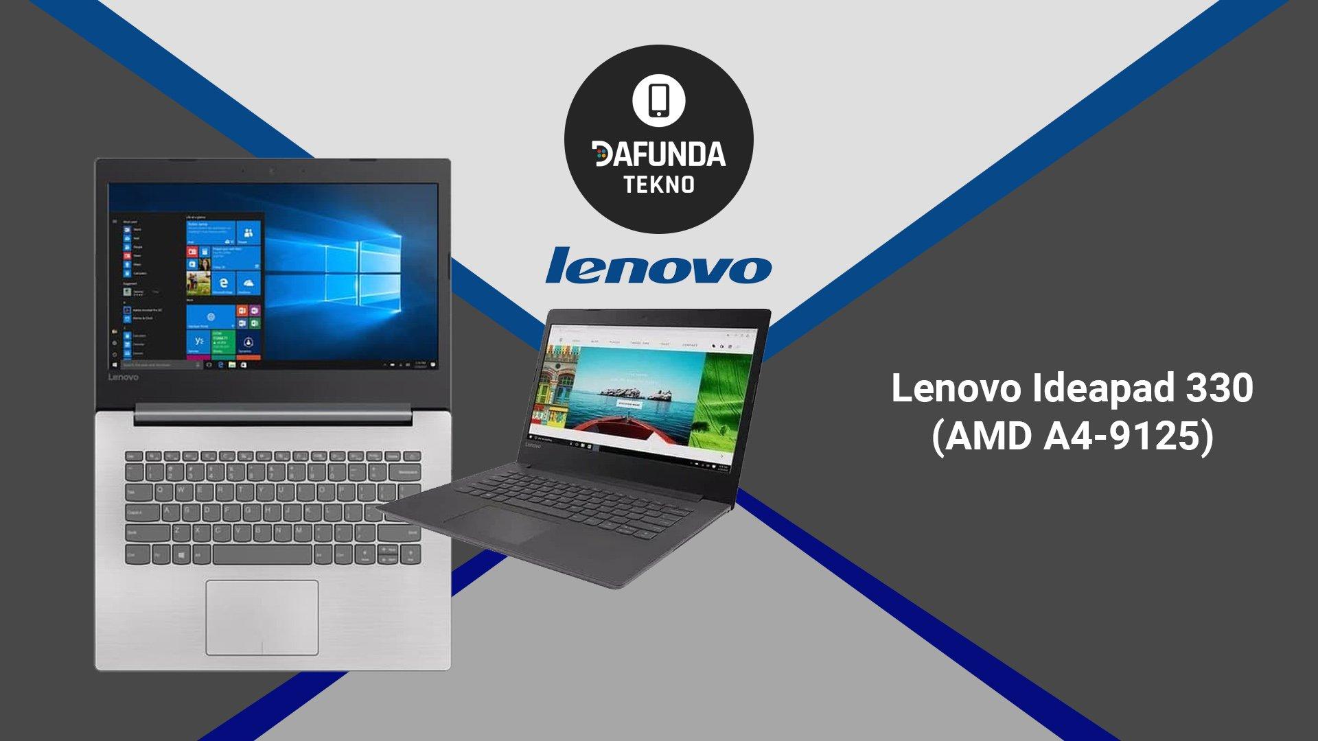 Lenovo Ideapad 330 Amd A4 9125
