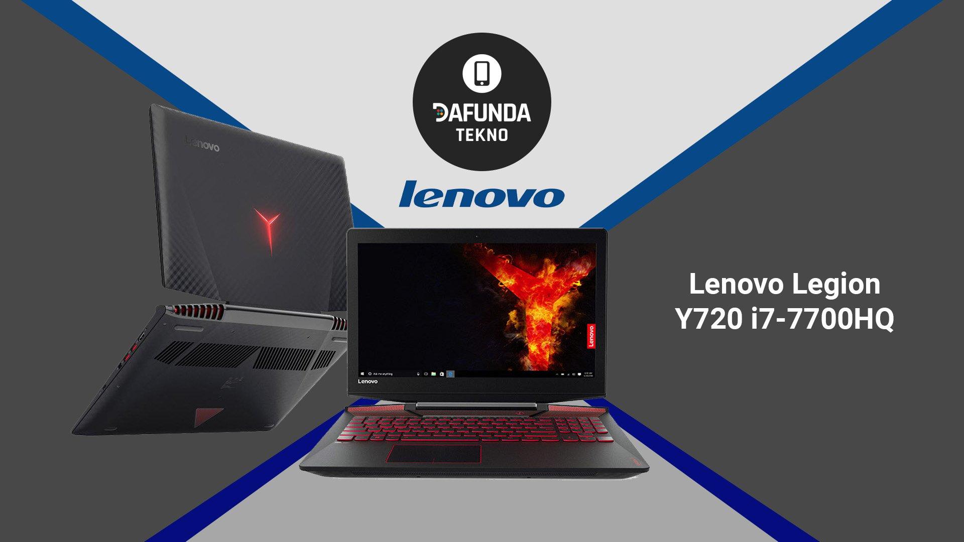 Lenovo Legion Y720 I7 7700hq