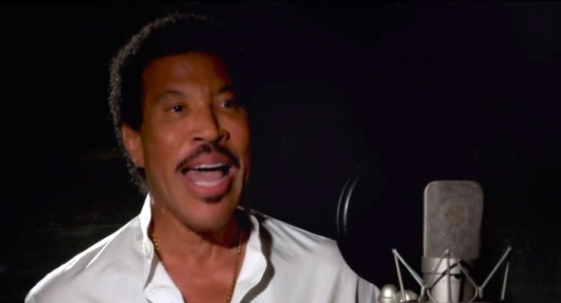 Lionel Richie American Idol We are the World