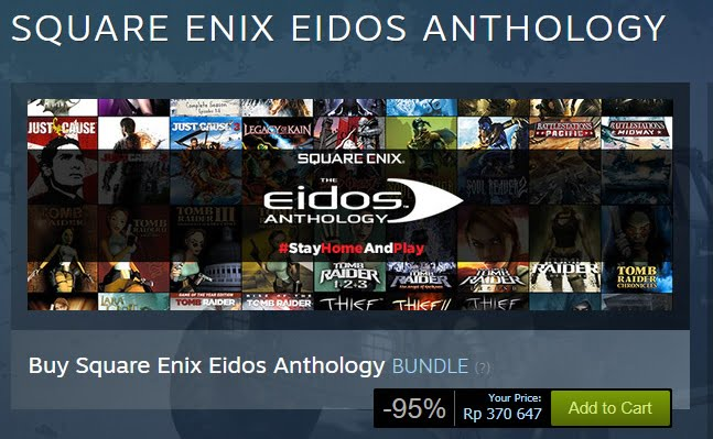 Square Enix Eidos Anthology Bundle
