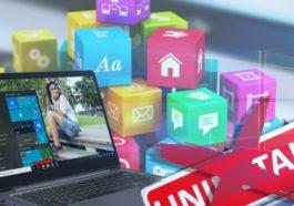 Cara Menghapus Aplikasi Bawaan Di Windows