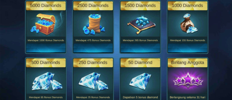 Linkduit Diamond Mobile Legends