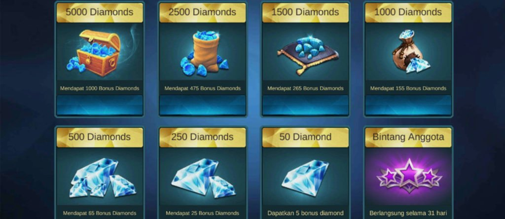 Linkduit Diamond Mobile Legends