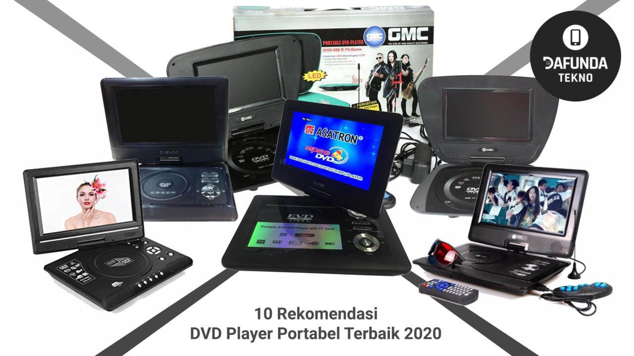 10 Rekomendasi Dvd Player Portabel Terbaik 2020