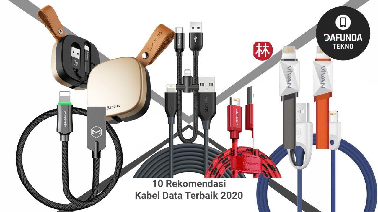 10 Rekomendasi Kabel Data Terbaik 2020