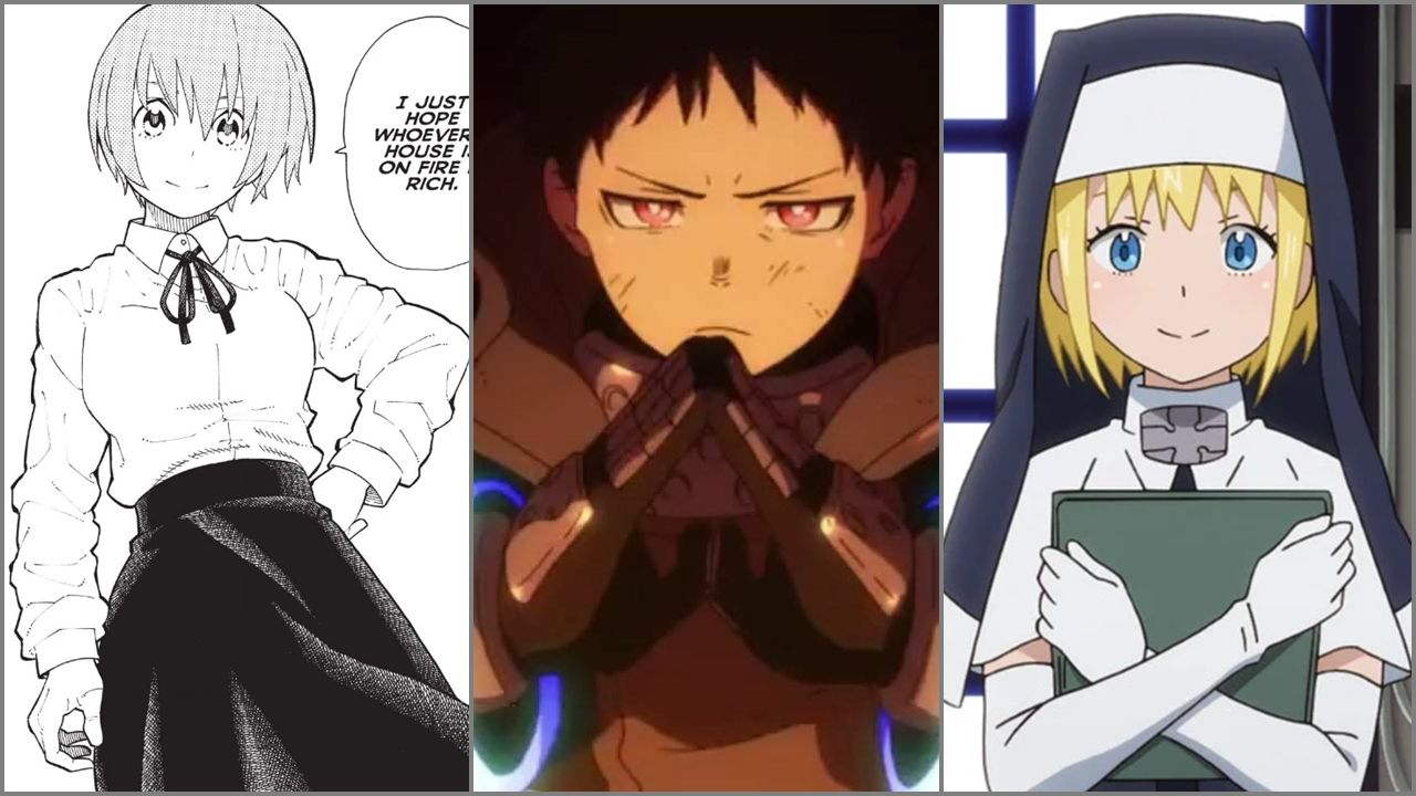 8 Pilar Dari Anime Fire Force