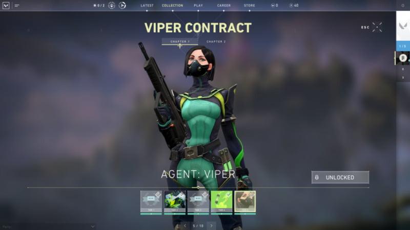 Agent Valorant Viper