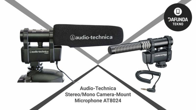Audio Technica Stereo Mono Camera Mount Microphone At8024