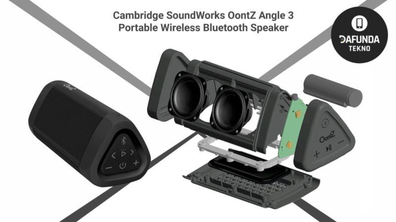Cambridge Soundworks Oontz Angle 3 Portable Wireless Bluetooth Speaker