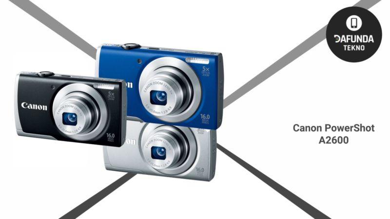 Kamera Canon terbaik di bawah 2 juta Canon Powershot A2600