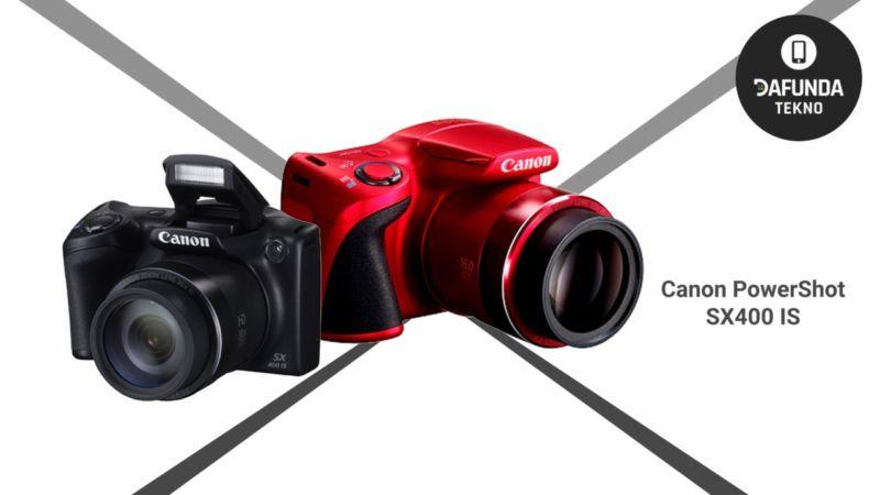 Kamera Canon terbaik di bawah 2 juta Canon Powershot Sx400 Is