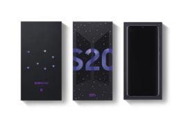 Galaxy S20+ Edisi BTS