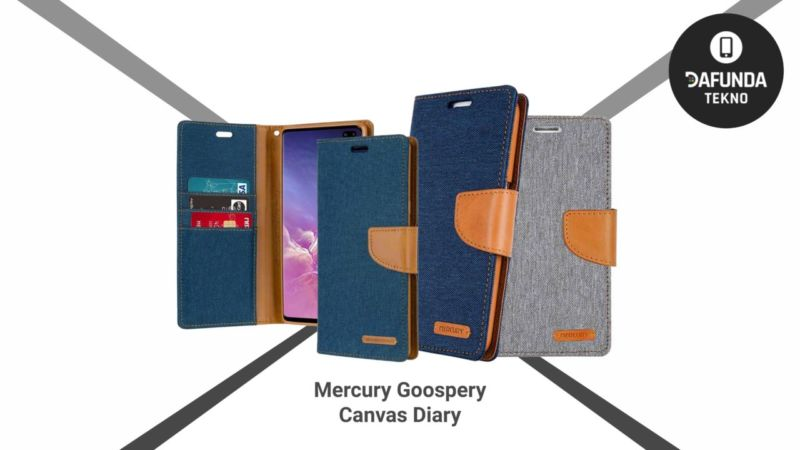 Mercury Goospery Canvas Diary