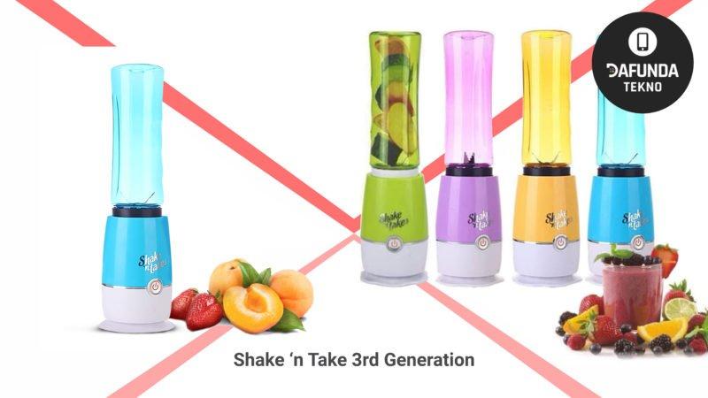 Blender mini terbaik Shake 'n Take 3rd Generation