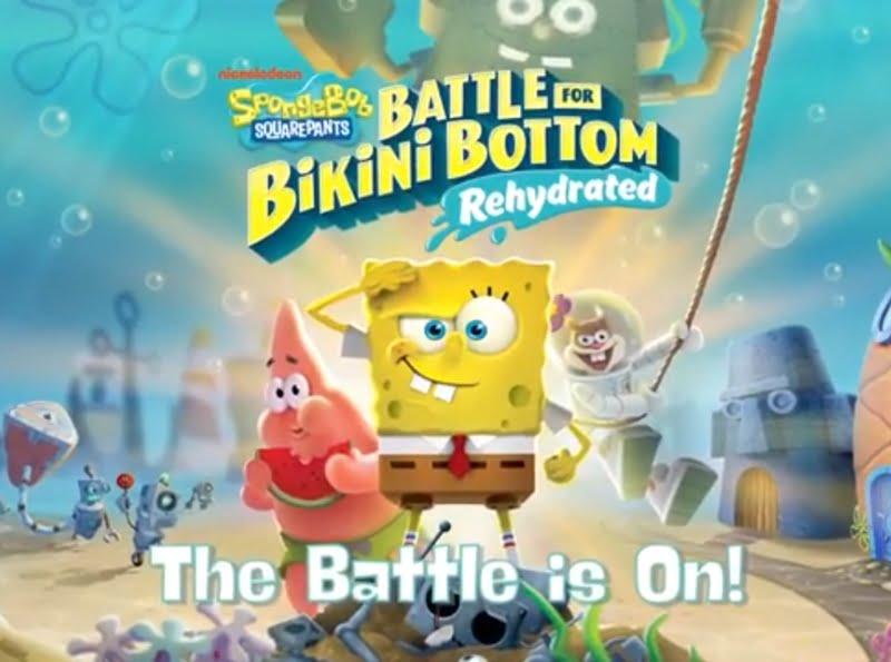 Spesifikasi Pc Spongebob Squarepants Battle For Bikini Bottom – Rehydrated