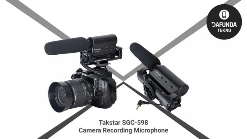Takstar Sgc 598 Camera Recording Microphone