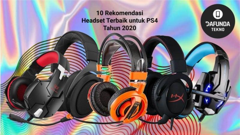 10 Rekomendasi Headset Terbaik Untuk Ps4 Tahun 2020