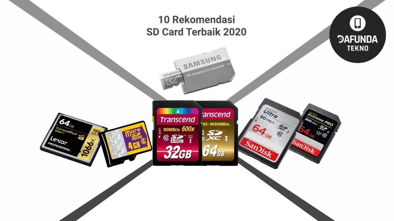 10 Rekomendasi Sd Card Terbaik 2020