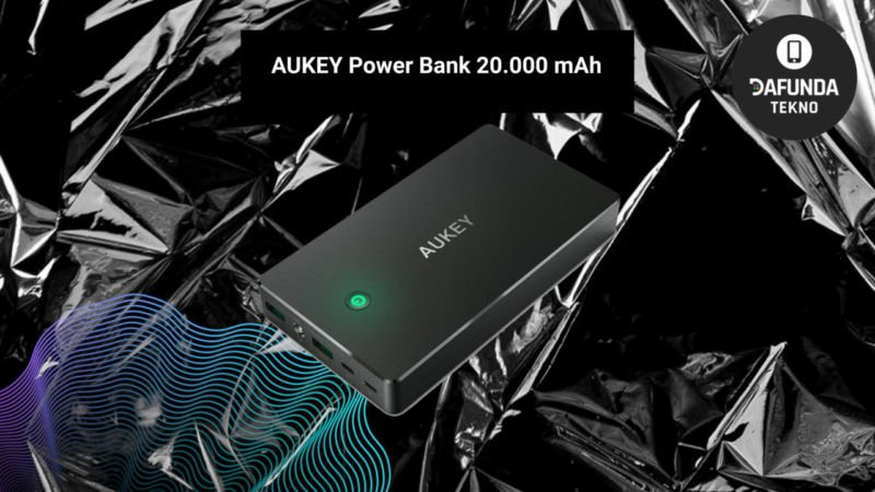 Power Bank Terbaik Aukey Power Bank 20.000 Mah