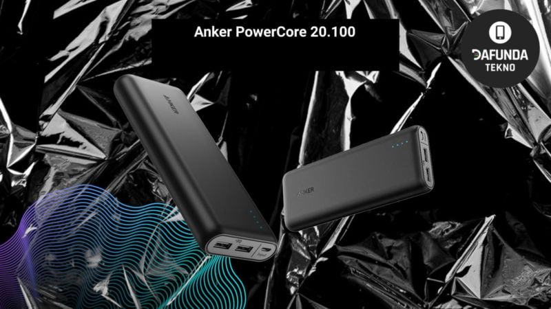Power Bank Terbaik Anker Powercore 20.100
