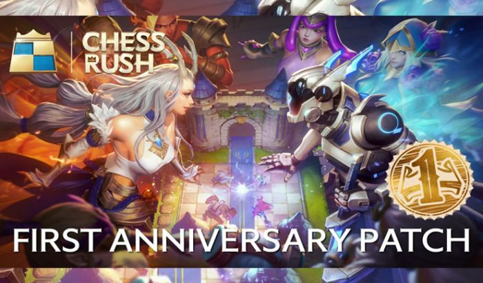 Chess Rush First Anniversary