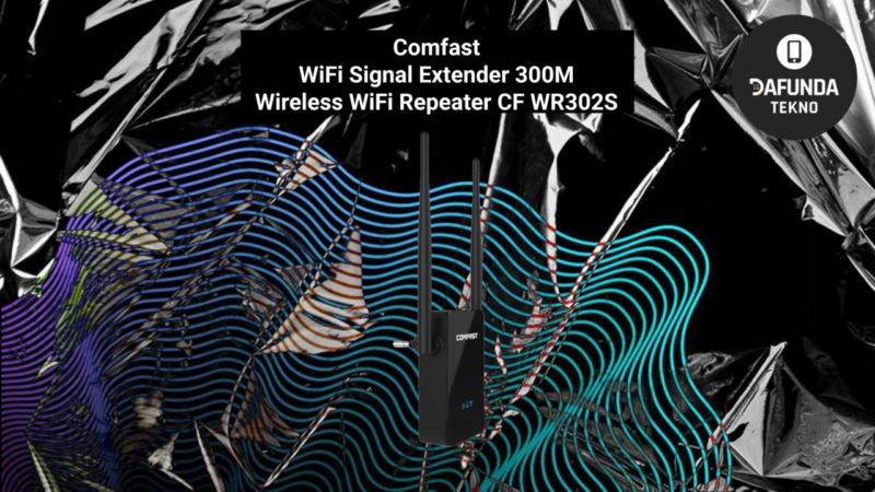 Comfast Wifi Signal Extender 300m Wireless Wifi Repeater Cf Wr302s