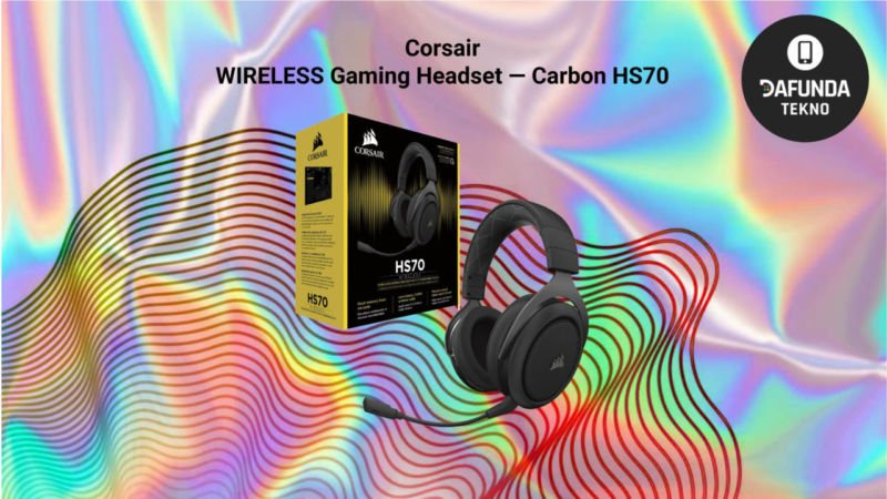 Corsair Wireless Gaming Headset — Carbon Hs70
