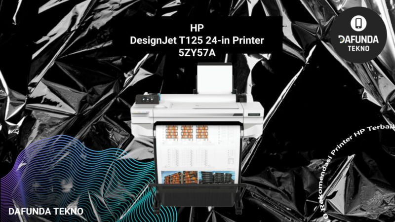 Hp Designjet T125 24 In Printer 5zy57a