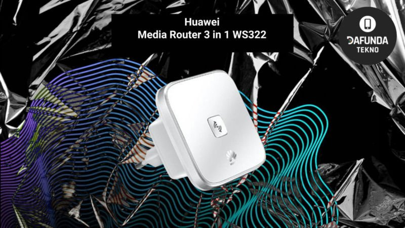 Huawei Media Router 3 In 1 Ws322