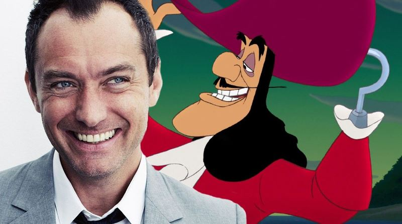 Jude Law In Talks To Play Captain Hook In Disneys