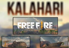Map Kalahari Free Fire