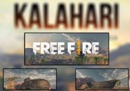 Map Kalahari Free Fire