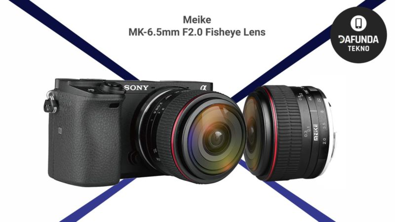 Meike Mk 6.5mm F2.0 Fisheye Lens