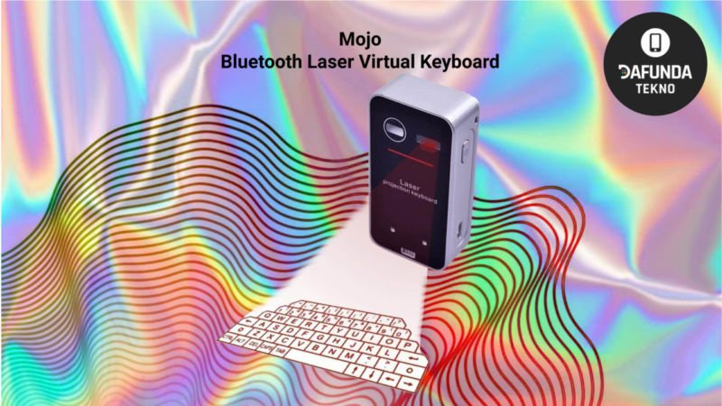 Mojo Bluetooth Laser Virtual Keyboard