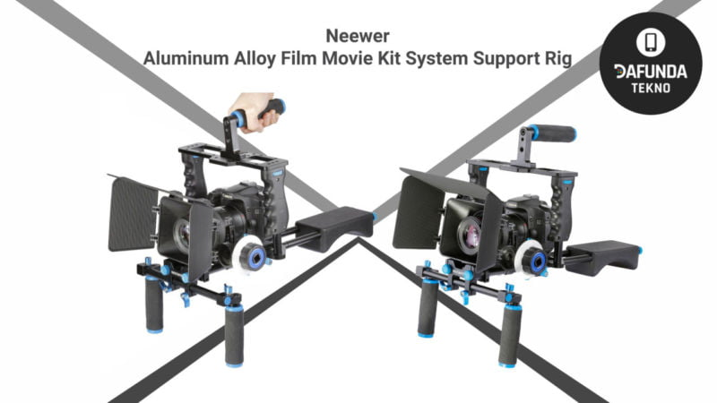 Neewer Aluminum Alloy Film Movie Kit System Support Rig