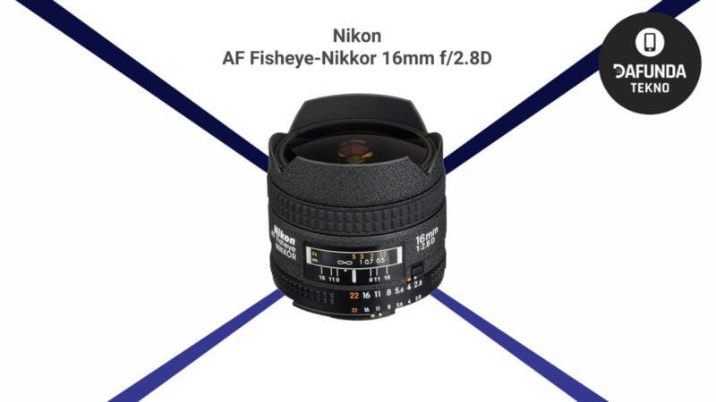 Nikon Af Fisheye Nikkor 16mm F 2.8d