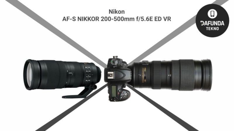 Nikon Af S Nikkor 200 500mm F 5.6e Ed Vr