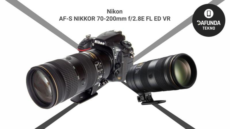 Lensa Tele Terbaik Nikon Af S Nikkor 70 200mm F 2.8e Fl Ed Vr