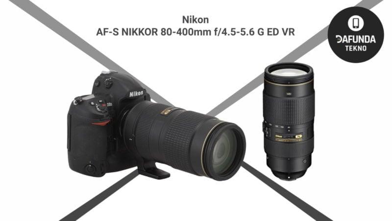 Nikon Af S Nikkor 80 400mm F 4.5 5.6 G Ed Vr