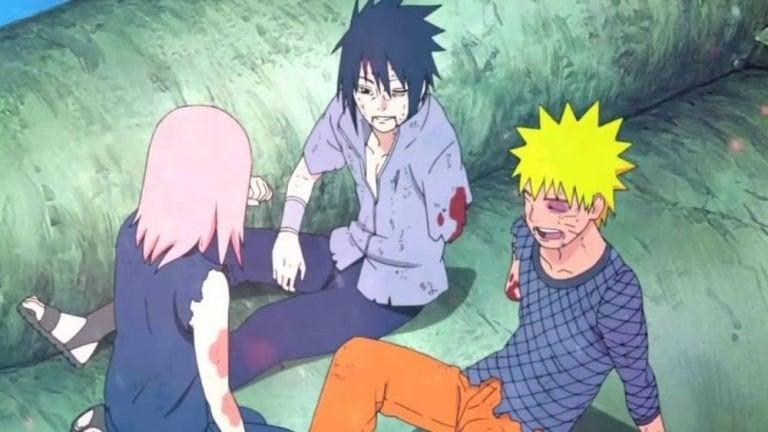 Pertarungan Sasuke Dan Naruto