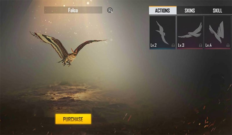 Pet Falcon Free Fire