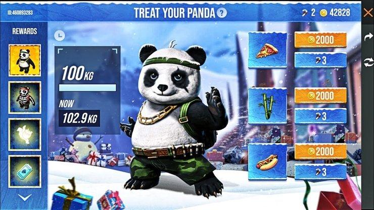 Pet Panda Free Fire