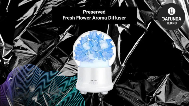 Preserved Fresh Flower Aroma Diffuser