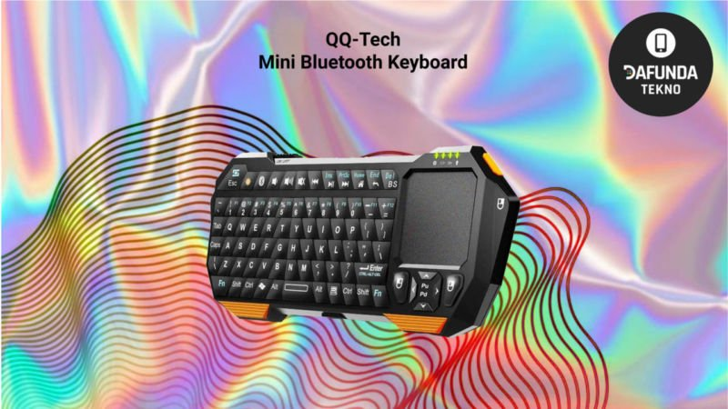 Qq Tech Mini Bluetooth Keyboard